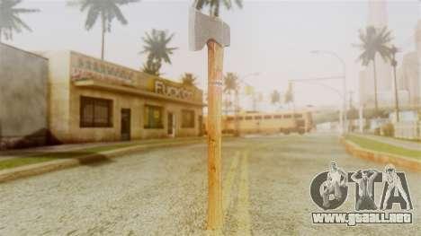 GTA 5 Hatchet v1 para GTA San Andreas