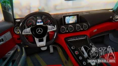 Mercedes-Benz SLS AMG GT para la visión correcta GTA San Andreas