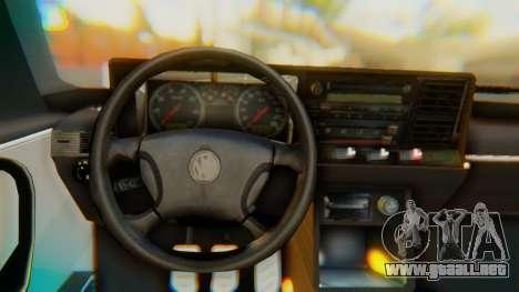 Volkswagen Santana Gz para la visión correcta GTA San Andreas