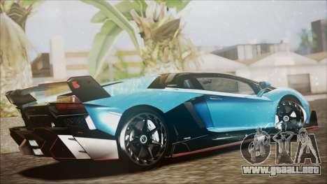 Lamborghini Veneno LP700-4 AVSM para GTA San Andreas left
