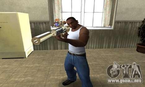 Sniper Fish Power para GTA San Andreas segunda pantalla
