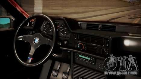 BMW E24 Shakugan No Shana Itasha para la visión correcta GTA San Andreas