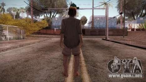 Rasta Grandpa para GTA San Andreas tercera pantalla