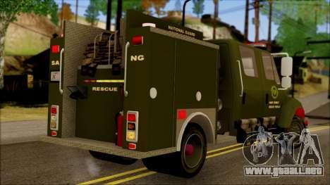 SANG Combat Rescue International para GTA San Andreas left