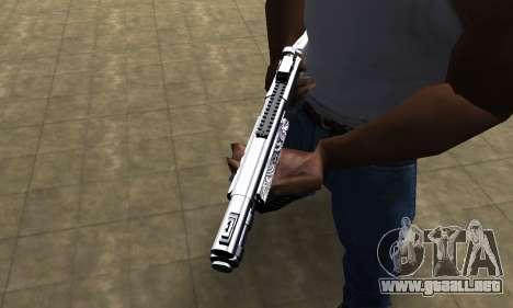 Black Shotgun para GTA San Andreas segunda pantalla