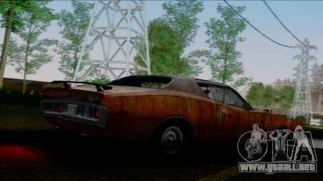 Dodge Charger Super Bee 426 Hemi (WS23) 1971 IVF para el motor de GTA San Andreas