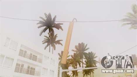 Red Dead Redemption TNT Diego Elegant para GTA San Andreas tercera pantalla
