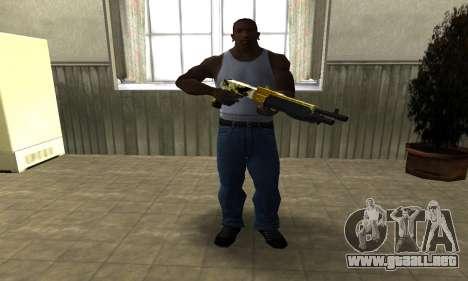 Wonder Combat Shotgun para GTA San Andreas tercera pantalla