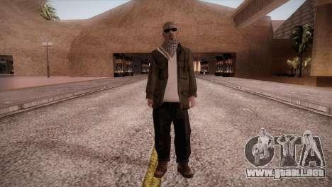 Terroristas para GTA San Andreas segunda pantalla