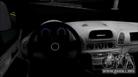 Opel Vivaro Policija para GTA San Andreas vista posterior izquierda