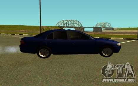 Opel Omega B para GTA San Andreas left