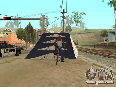 Trampolín para GTA San Andreas