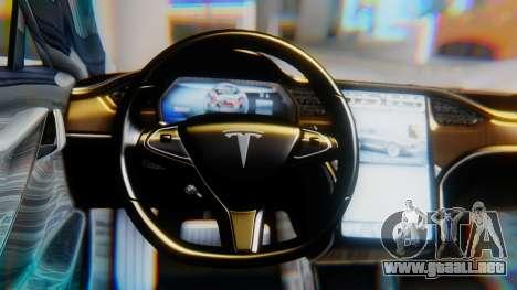 Tesla Model S para la visión correcta GTA San Andreas