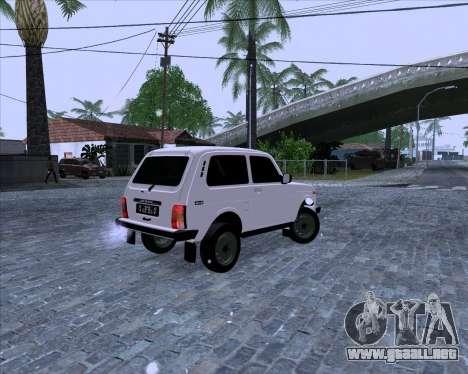 VAZ 2121 Niva 4x4 para GTA San Andreas left