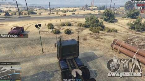 GTA 5 Trucking Missions 1.5 noveno captura de pantalla