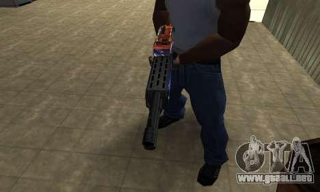 Fish Power Combat Shotgun para GTA San Andreas segunda pantalla