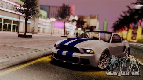R.N.P ENB v0.248 para GTA San Andreas octavo de pantalla