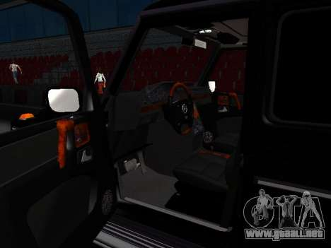 Mercedes-Benz G 320 para la vista superior GTA San Andreas