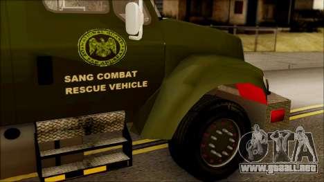 SANG Combat Rescue International para la visión correcta GTA San Andreas