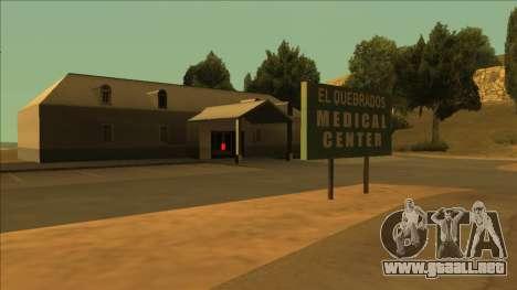 HP pastillas cerca de los hospitales en el estad para GTA San Andreas sucesivamente de pantalla