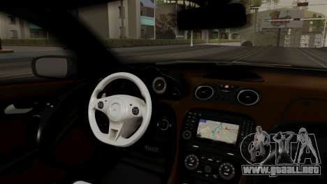 Mercedes-Benz SL65 E-Tuning para la visión correcta GTA San Andreas
