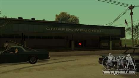 HP pastillas cerca de los hospitales en el estad para GTA San Andreas séptima pantalla
