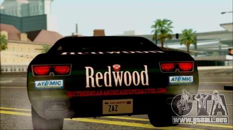 GTA 5 Bravado Gauntlet Redwood HQLM para la visión correcta GTA San Andreas
