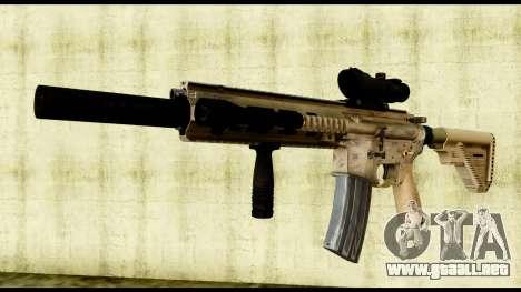 HK416 SOPMOD para GTA San Andreas