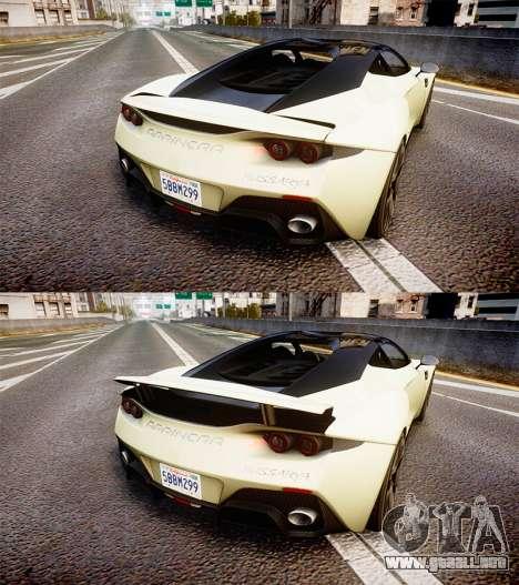 Arrinera Hussarya 2014 [EPM] para GTA 4 vista hacia atrás