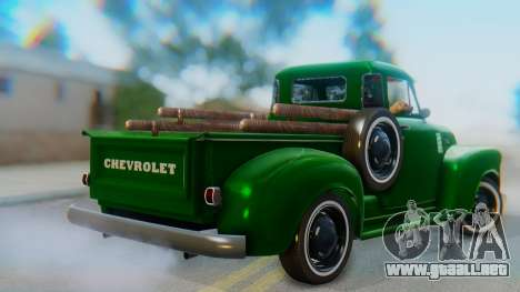 Chevrolet 3100 1951 Work para GTA San Andreas left