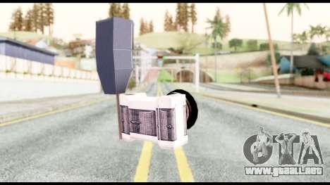 La cámara para GTA San Andreas segunda pantalla