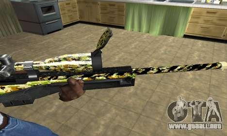 Cub Sniper Rifle para GTA San Andreas segunda pantalla