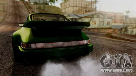 Porsche 911 Turbo (930) 1985 Kit A PJ para GTA San Andreas interior