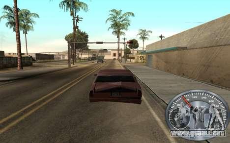 Hierro velocímetro para GTA San Andreas