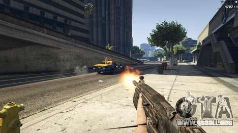 Gears of War Lancer 1.0.0 para GTA 5