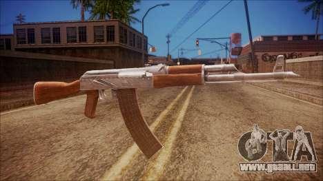 AK-47 v6 from Battlefield Hardline para GTA San Andreas