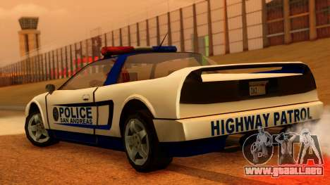 Police Infernus para GTA San Andreas left