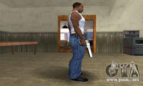 Flacon Deagle para GTA San Andreas segunda pantalla