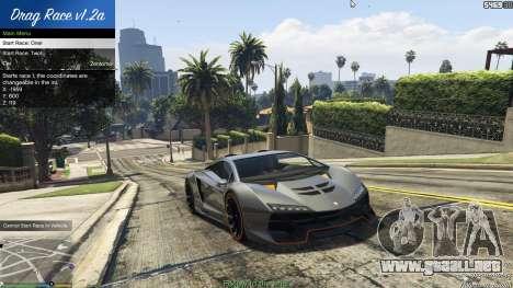 GTA 5 Drag Race 1.2a cuarto captura de pantalla