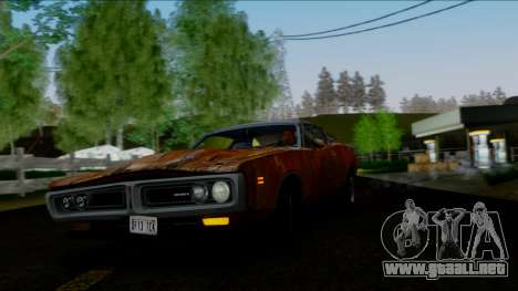 Dodge Charger Super Bee 426 Hemi (WS23) 1971 IVF para GTA San Andreas interior