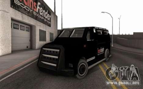 Máquina de la entrega de piezas de ajuste para GTA San Andreas