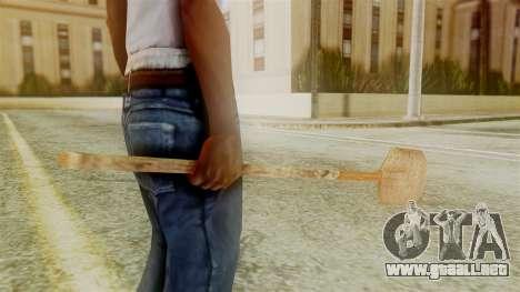 Red Dead Redemption Shovel para GTA San Andreas segunda pantalla