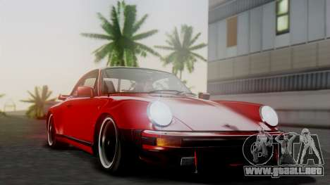 Porsche 911 Turbo (930) 1985 Kit A para la vista superior GTA San Andreas