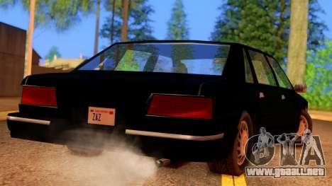 FBI Undercover Unmarked Premier para GTA San Andreas left