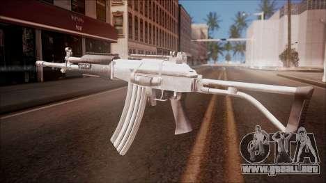 Galil AR v1 from Battlefield Hardline para GTA San Andreas segunda pantalla