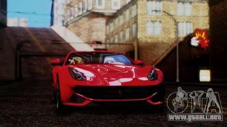 Sonic Unbelievable Shader v8 para GTA San Andreas segunda pantalla