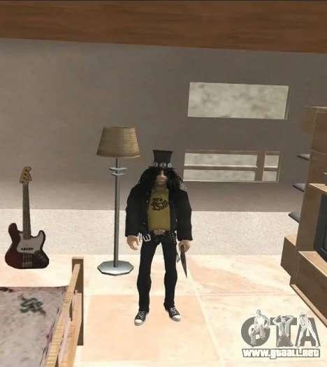 Slash para GTA San Andreas segunda pantalla