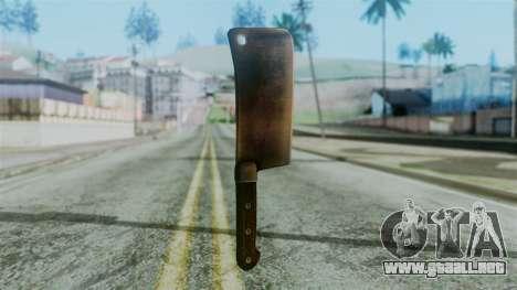 Cleaver from Silent Hill Downpour para GTA San Andreas segunda pantalla