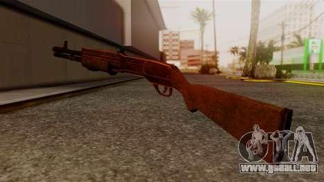 BlueSteel Shotgun para GTA San Andreas segunda pantalla