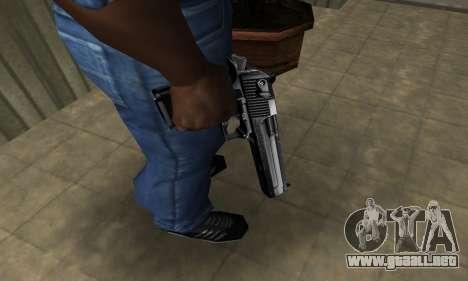 Full Silver Deagle para GTA San Andreas segunda pantalla